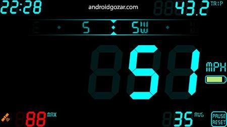 DigiHUD Pro Speedometer 1.1.5 دانلود نرم افزار سرعت سنج HUD