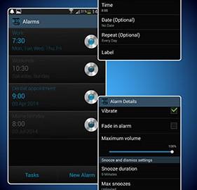 Digital Alarm Clock PRO 8.8.2 دانلود نرم افزار ساعت زنگ دار دیجیتال
