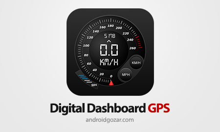 Digital Dashboard GPS Pro 3.4.36 سرعت سنج ماشین و دوچرخه اندروید