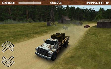 Dirt Road Trucker 3D 1.5.12 بازی راننده کامیون جاده خاکی