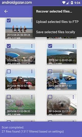 دانلود DiskDigger Pro file recovery 1.0-pro-2020-10-10 بازیابی اطلاعات اندروید