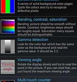 Display Tester Pro 4.10 دانلود نرم افزار تست صفحه نمایش اندروید