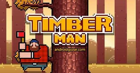 Timberman 3.2.12 دانلود بازی موبایل نجار اندروید + مود