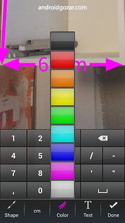 IMAGinE Measures 3.9.9 دانلود نرم افزار درج اندازه ها و ابعاد در عکس