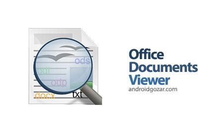 دانلود Office Documents Viewer Pro 1.29.7 برنامه مشاهده آفیس در اندروید