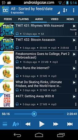 دانلود DoggCatcher Podcast Player 1.2.4150 برنامه مدیریت و پخش پادکست