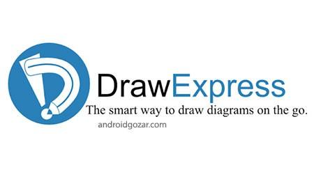 دانلود DrawExpress Diagram 2.1.2 برنامه رسم نمودار و فلوچارت اندروید