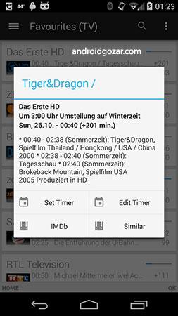 dreamDroid 1.4.433 دانلود نرم افزار کنترل دریم باکس