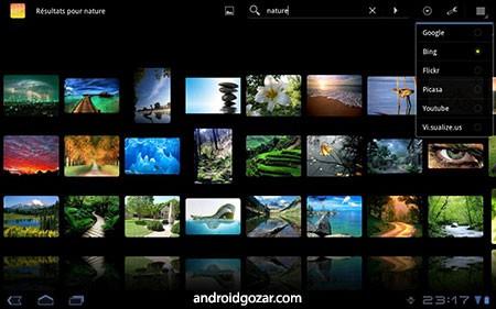 DroidIris+ : Image Search 3.2.2 دانلود نرم افزار مرورگر تصاویر