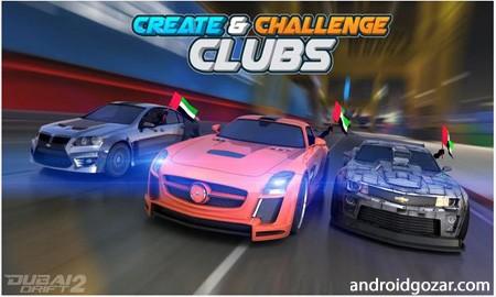 دانلود Dubai Drift 2 2.5.2 – بازی اتومبیل رانی دوبی دریفت 2 اندروید