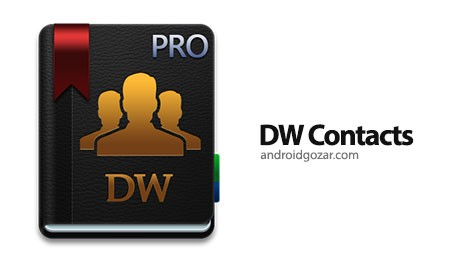 DW Contacts & Phone & Dialer 3.0.5.5-pro مدیریت مخاطبین اندروید
