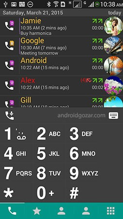 DW Contacts & Phone & Dialer 3.1.4.0 مدیریت مخاطبین اندروید