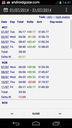 Time Recording Pro 7.05 Patched دانلود نرم افزار مدیریت برنامه زمانی
