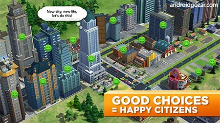 دانلود SimCity BuildIt 1.39.2.100801 – بازی شهرسازی اندروید + مود