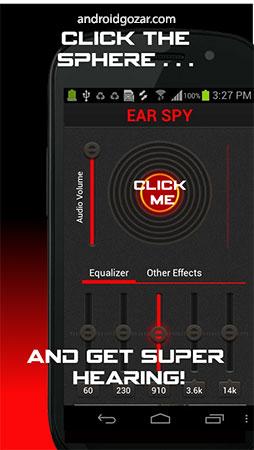 Ear Spy Pro 1.4.9 Patched ضبط صدا با دقت بالا اندروید