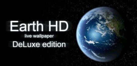 Earth HD Deluxe Edition 3.4.3 دانلود لایو والپیپر کره زمین