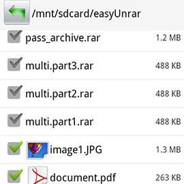 Easy Unrar, Unzip & Zip Premium 4.0 دانلود برنامه استخراج و فشرده سازی
