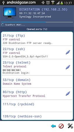 دانلود Network Scanner Full 2.2.4 برنامه اسکنر شبکه اندروید