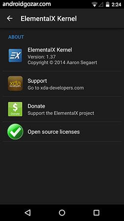 دانلود EX Kernel Manager 5.66 برنامه کنترل هسته (کرنل) اندروید