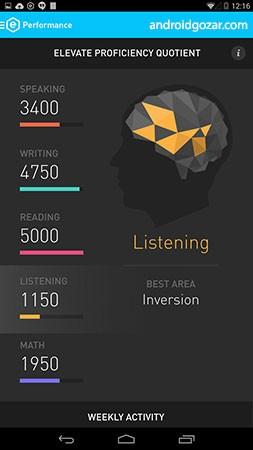 دانلود Elevate – Brain Training Pro 5.43.0 برنامه پرورش هوش اندروید