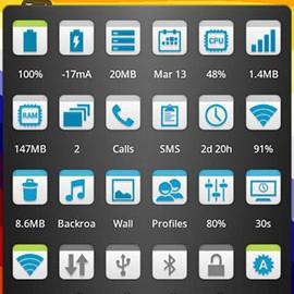 Elixir 2 Donate 2.42 دانلود نرم افزار نمایش اطلاعات سیستم اندروید