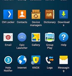 Galaxy Launcher Prime 1.1.3 دانلود لانچر گلکسی اس 5