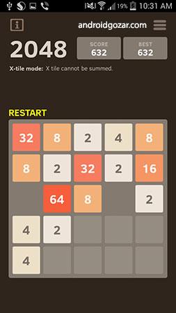 دانلود 2048 Number puzzle game 7.11 بازی پازل اعداد اندروید + مود