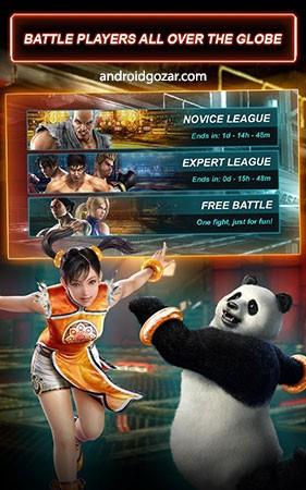 Tekken Card Tournament (CCG) 3.422 دانلود بازی تیکن اندروید + مود + دیتا