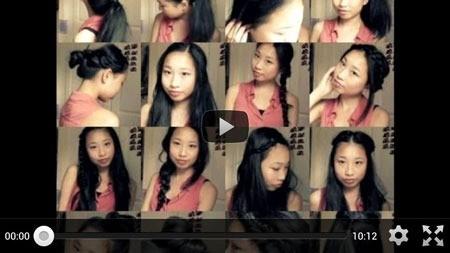 Everyday Hairstyles 4.0 آموزش آرایشگری مدل مو روزانه