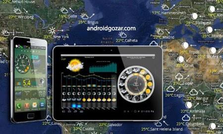 eWeather HD, Radar, Alerts 7.0.1 دانلود نرم افزار پیش بینی آب و هوا