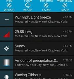دانلود eWeather HD 8.1.0 برنامه پیش بینی آب و هوا اندروید