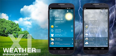 Weather XL PRO 1.4.4.6 دانلود نرم افزار آب و هوا اندروید