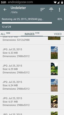 Undeleter Recover Files & Data Full 3.7.3.16.B114 دانلود نرم افزار بازیابی اطلاعات پاک شده