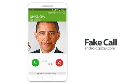 Fake Call 2.39 دانلود نرم افزار تماس جعلی