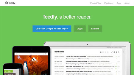 feedly: your work newsfeed 32.3.0 دانلود نرم افزار خبر خوان