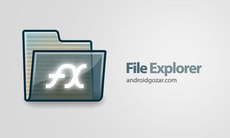 FX File Explorer 8.0.1.0 Final دانلود برنامه فایل منیجر اندروید