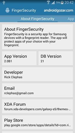 FingerSecurity Premium 3.13 دانلود نرم افزار انگشت امنیتی اندروید