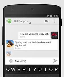 Fleksy Keyboard Premium 9.8.2 Final دانلود صفحه کلید سریع و دقیق اندروید