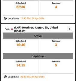 Airline Flight Status Tracker 2.7.5 پیگیری پرواز فرودگاه و خطوط هوایی