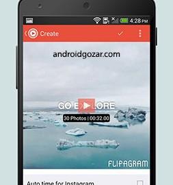 دانلود Flipagram Premium – Music Video Editor 5.4.10-GP برنامه ویرایشگر موسیقی عکس ویدئو