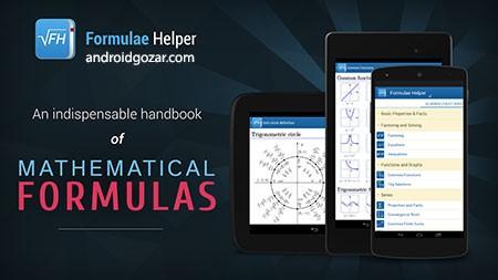 Formulae Helper – Math Formula 1.2.11 مرجع فرمول های ریاضی