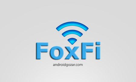 FoxFi FULL (WiFi Tether w/o Root) 2.19 اشتراک اینترنت موبایل