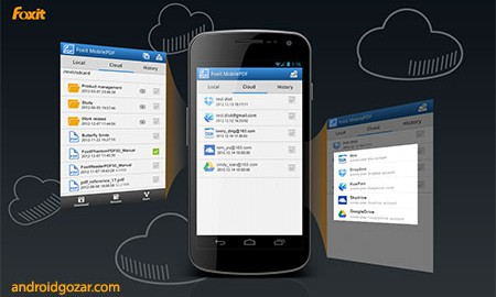 Foxit MobilePDF Business 6.3.0.0705 ویرایش و مدیریت اسناد PDF در اندروید