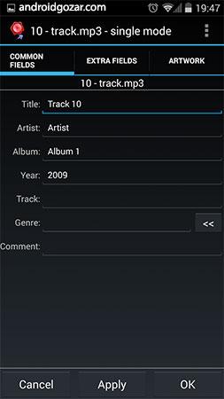 AudioTagger Pro – Tag Music 6.4.2 ویرایش تگ و برچسب آهنگ ها در اندروید