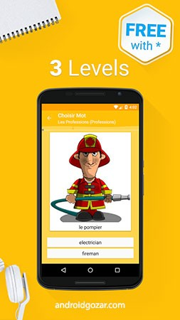 Learn English 6000 Words Full 5.55 دانلود نرم افزار یادگیری لغات انگلیسی
