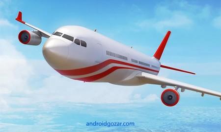 Flight Pilot Simulator 3D 1.3.6 دانلود بازی شبیه ساز خلبان پرواز+مود