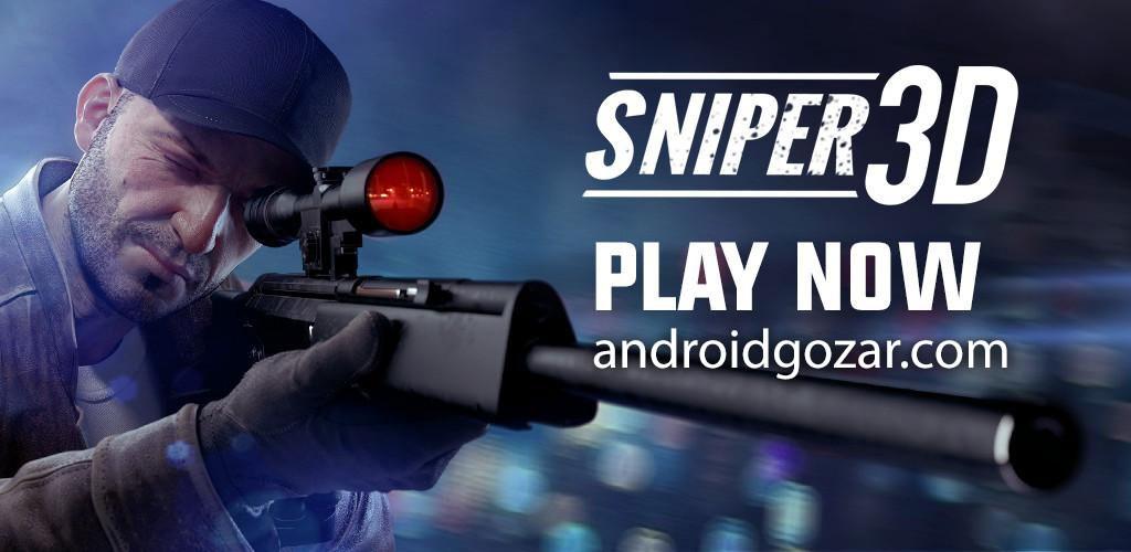 دانلود Sniper 3D Gun Shooter 3.24.3 بازی قاتل تک تیرانداز اندروید + مود