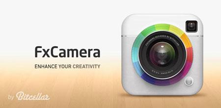 FxCamera – a free camera app 3.5.3 دانلود نرم افزار عکسبرداری خلاقانه