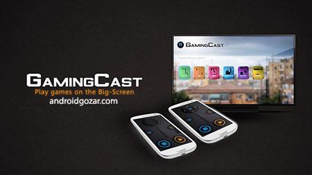 GamingCast (for Chromecast) 1.5 Mobile game on TV