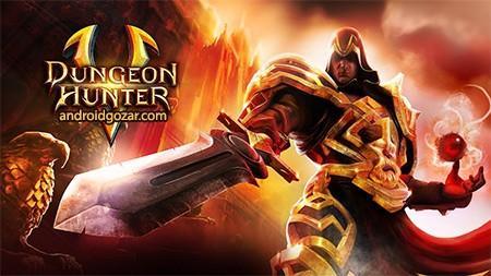Dungeon Hunter 5 3.2.0f دانلود بازی شکارچی سیاه چال 5 اندروید+مود+دیتا